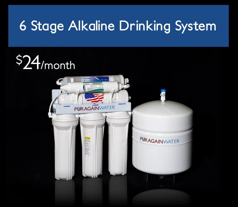 6 Stage Alkaline Water System