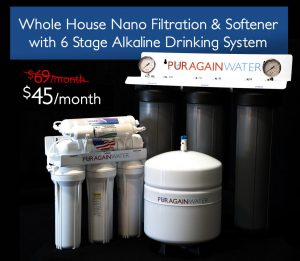 whole house water filtration and water softener
